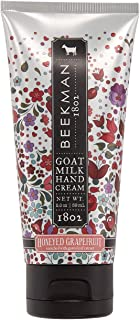 product image for Beekman 1802 - Hand Cream - Honeyed Grapefruit - Moisturizing & Hydrating Goat Milk Hand Lotion for Dry & Sensitive Skin - Daily Hydration - Goat Milk Hand Care - 2 oz