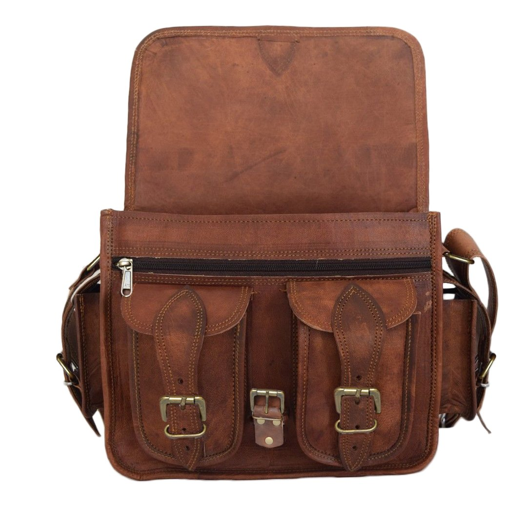 Buy Madosh Genuine Leather Camera DSLR Bag Lens Sony Canon Nikon Crossbody  Vintage Men s Bag Online at Low Price in India  c1915dd3b29a0