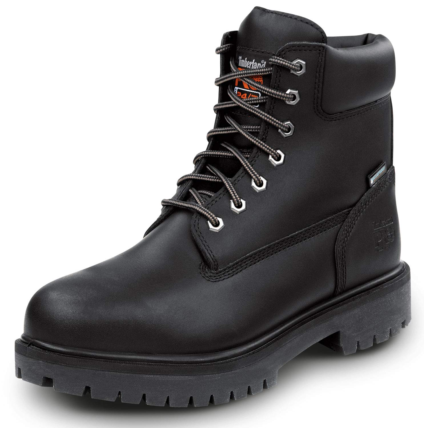 Timberland PRO 6IN Direct Attach Men's Steel Toe Boot (12.0 M) Black by Timberland PRO