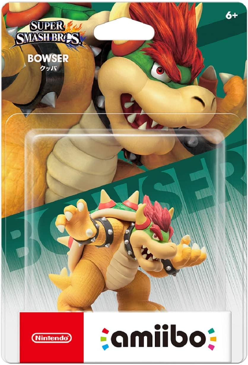 Amiibo Koopa / Bowser - Super Smash Bros. series Ver. [Wii U ...