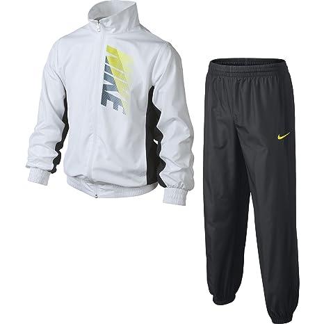 Nike T45 GFX W Cuff Warm Up YTH - Chándal para niño, Color Blanco ...