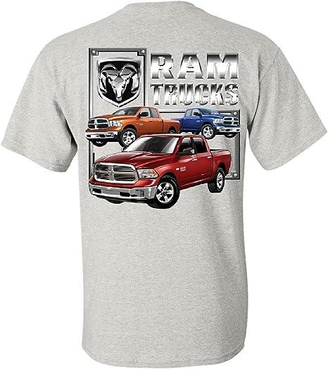 Dodge RAM HEMI Long Sleeve T-Shirt Dodge Truck Licensed Tee