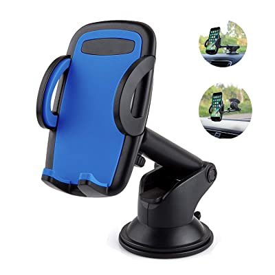 Cell Phone Holder for Car, Yostyle Car Dashboard & Windshield Phone Mount Holder Cradle for iPhone X/Xs/XR/Xs Max/8/8Plus/7/6s,Galaxy S10/S9/S8/S7/Note 8 9,LG, Nexus, Sony, Nokia,BlackBerry and More