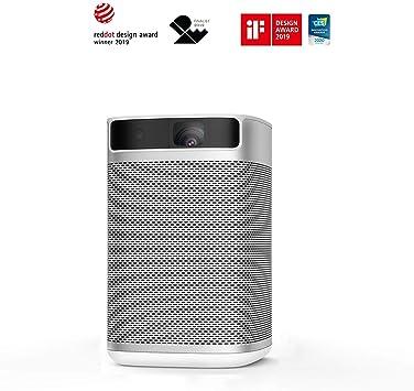 Opinión sobre XGIMI MOGO Pro Proyector Android TV Full HD Mini 3D 1080P proyector Inteligente 300ANSI Lúmenes portátil WiFi Altavoces Bluetooth Harman / Kardon Pequeño proyector de Cine en Casa
