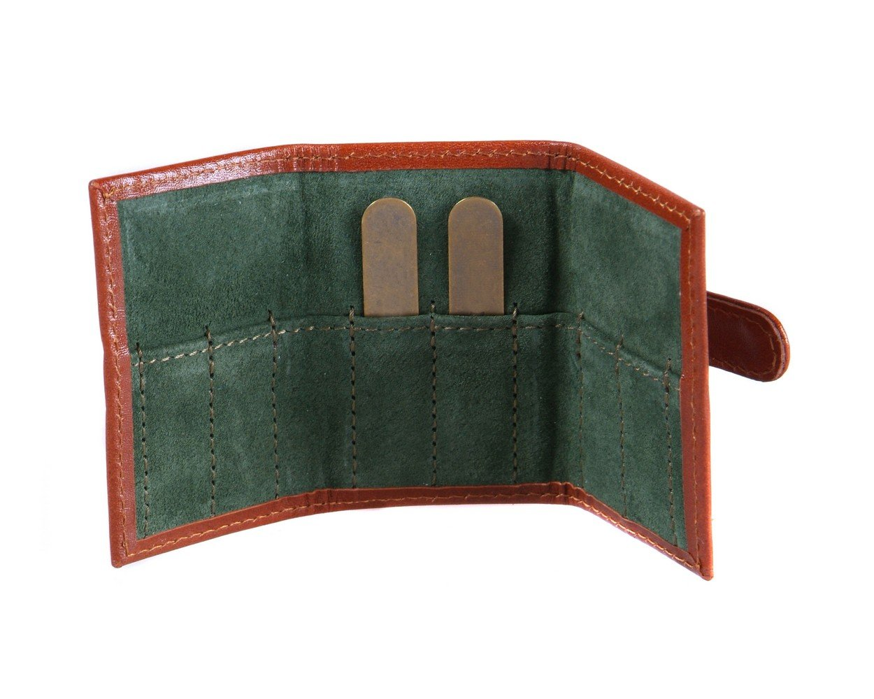 SAGEBROWN Havana Tan Collar Bone Wallet