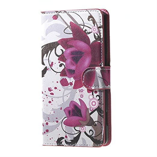 8 opinioni per Huawei Y6 Custodia Pelle,PU Leather Case Custodia Portafoglio Flip Cover in