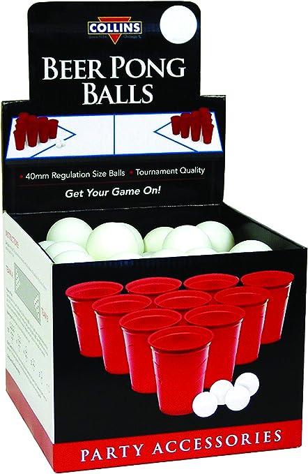 Collins Accessories BP72 Beer Pong Ball Display, 72 Pack, Marrón: Amazon.es: Hogar