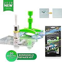 Lifede DIY Kit de reparación de cristales de coche, kit de reparación de grietas de parabrisas, kit de reparación de…