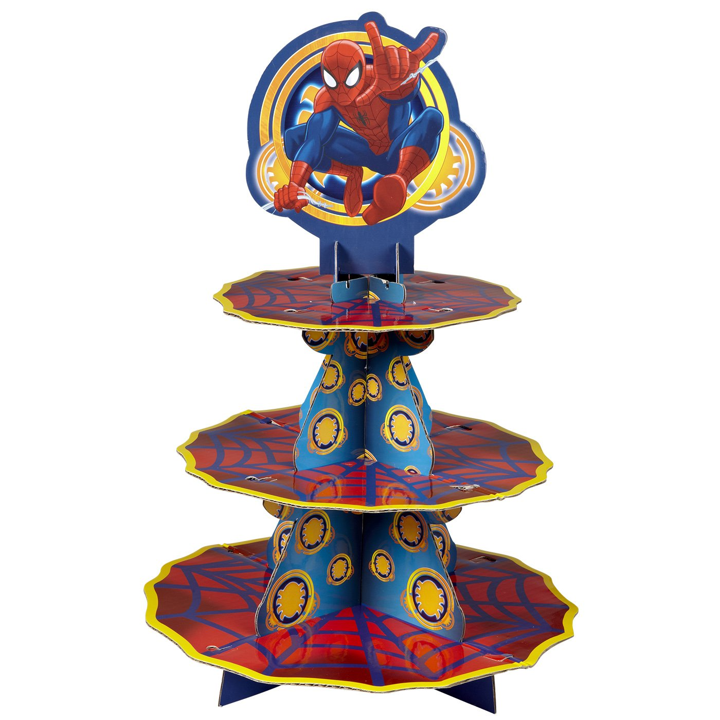 Wilton 1512-5072 Ultimate Spider-Man Treat Stand
