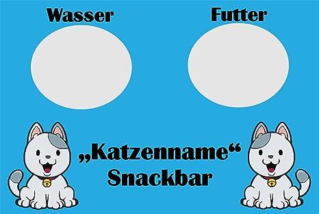 Creativ Deluxe Snack Bar (Gatos de Grabado de Nombre) – Felpudo (Estampado