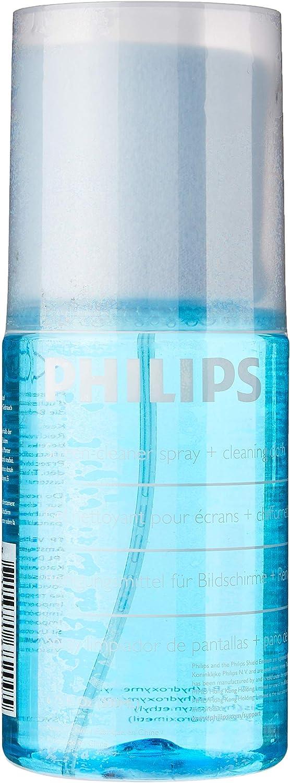 Philips SVC1116/10 - Liquido para la Limpieza de Pantallas, Color Azul: Amazon.es: Electrónica