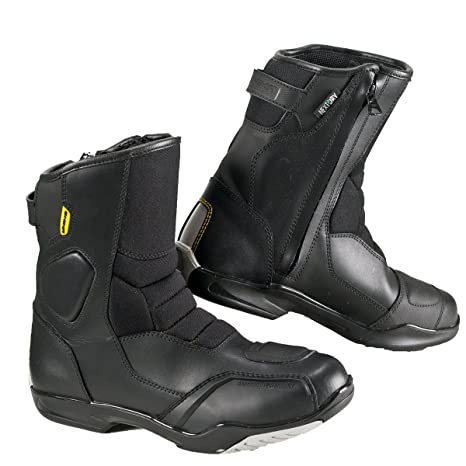 Shima Rsx-5 Men 41-48 Gr/ö/ße 45 Schwarz Black Herren Vintage Retro Road Sportstiefel Aus Leder Motorradstiefel