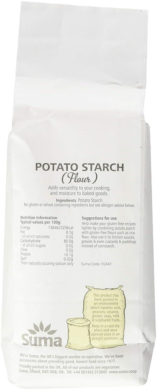 Suma Potato Starch 500 g (Pack of 6)