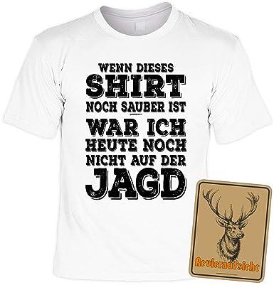 Jager Geschenkset Lustiges Jagershirt Motiv Jagdsport Jagen