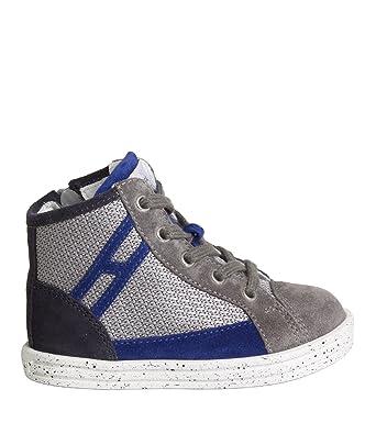 Enfants Hogan R141 Chaussures De Sport - Bleu 9gtMO5qQv
