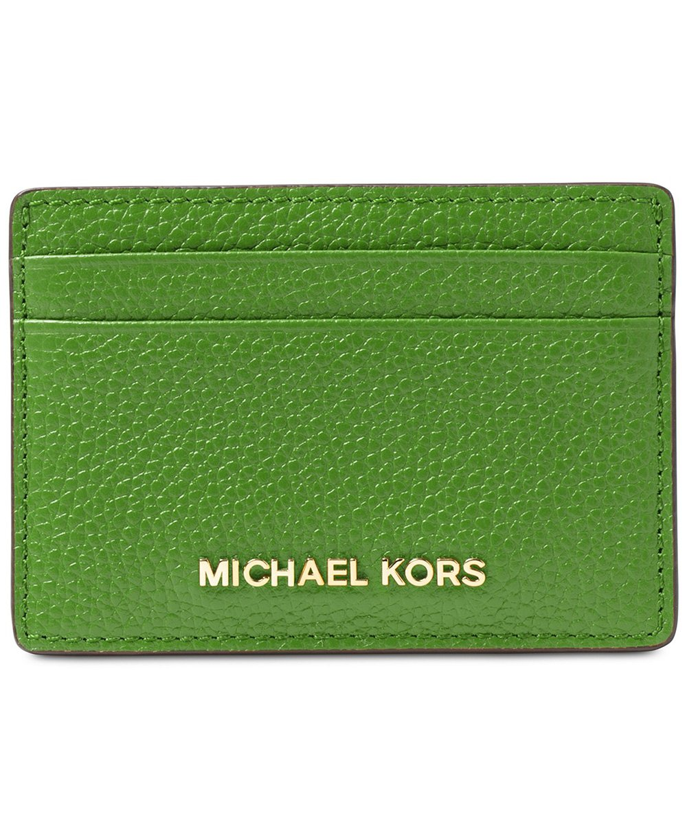 MICHAEL Michael Kors Card Holder - True Green