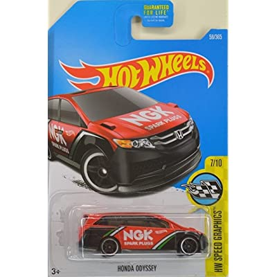 Hot Wheels 2020 HW Speed Graphics Honda Odyssey 58/365, Red: Toys & Games
