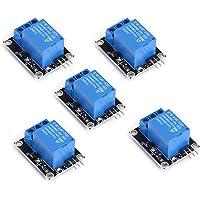 Teyleten Robot 5pcs/lot 5V 1 Channel Relay Module Board Shield Relay Board Ky-019