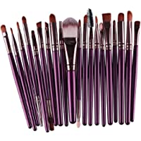 Clearance Deals Makeup Brush Set,Laimeng_world 2018 Professional Fashion 20pcs Make up Brushes Kits Cosmetic tools Kit Valentine Gift (H)