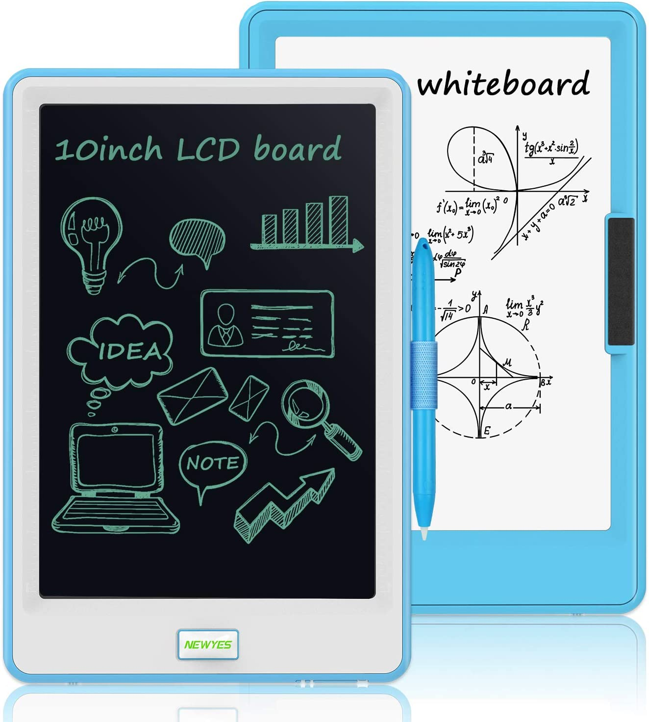 Electronic Writing /&Drawing Board for Kids Blue School LCD Writing Tablet Erasable Digital Drawing Pad Doodle Board for Kids and Adults at Home and Office