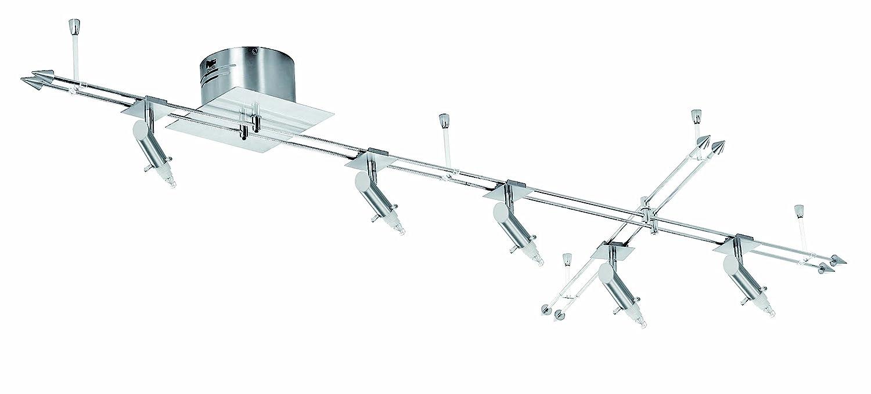 Fischer Leuchten Schienensystem Ohne Glas 5 Flammig 10995 Amazon