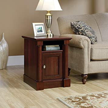 Perfect Sauder Palladia Side Table In Select Cherry