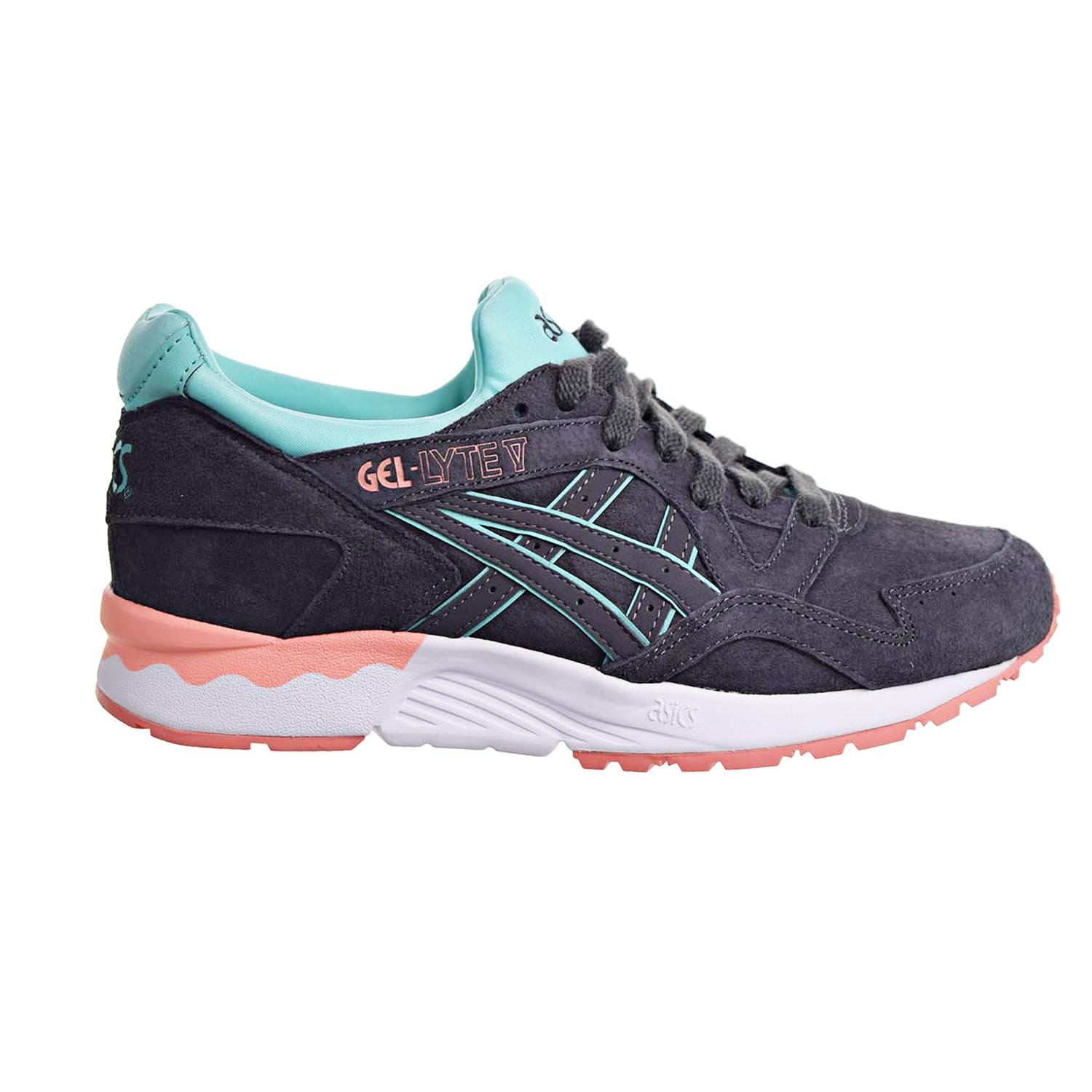 Onitsuka Tiger by Asics Women's Gel-Lyte V Dark Grey/Dark Grey Athletic Shoe