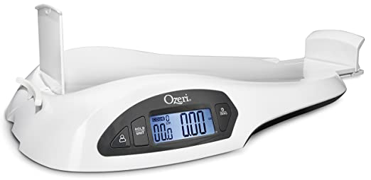 Ozeri All-in-One Baby and Toddler Scale with Weight and Height Change Detection