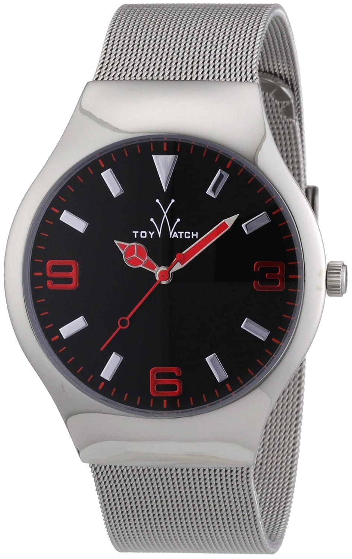 Toy Watch Unisex TOYMH02SL Mesh Analog Display Swiss Quartz Silver Watch