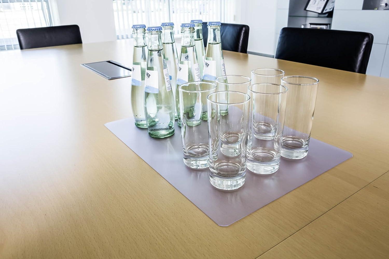 antiscivolo trasparente 420x300 mm DURABLE 711119 antiriflesso Sottomano per sale conferenze