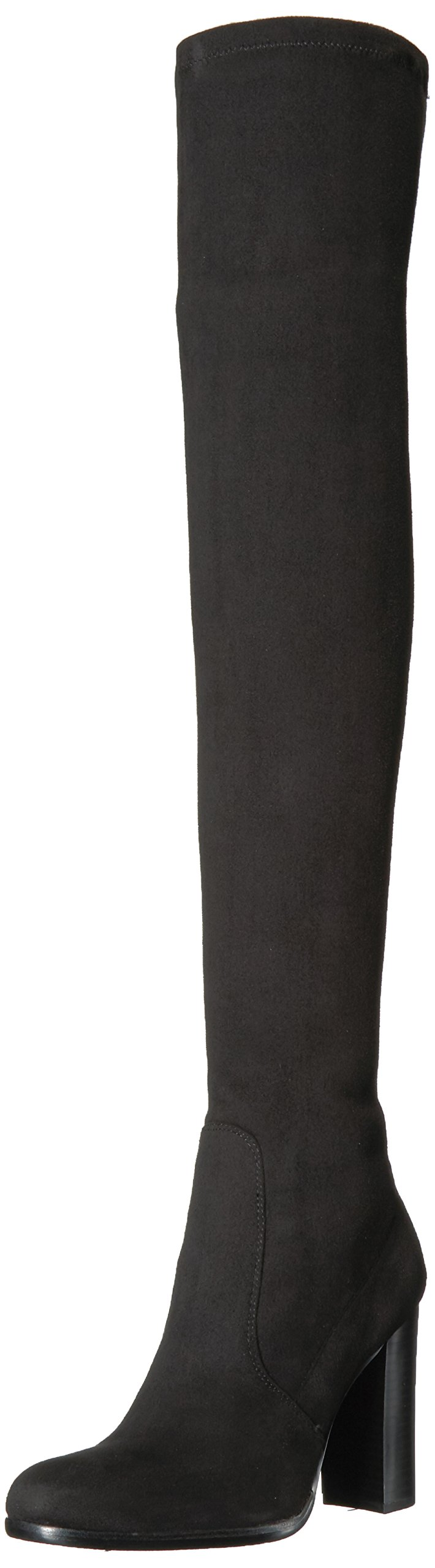 Sam Edelman Women's Vena 2 Over The Knee Boot, Black, 9.5 Medium US
