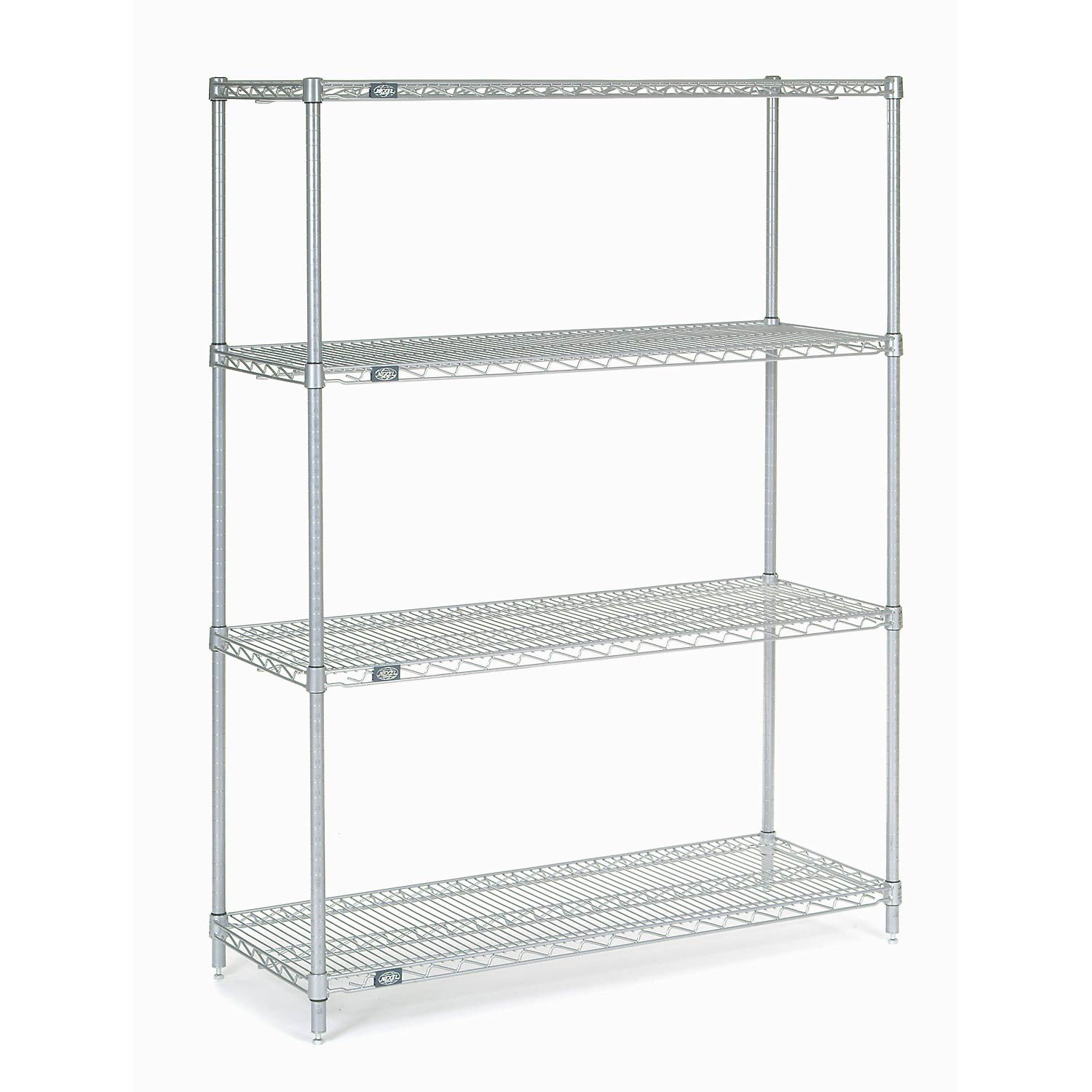 Chrome Wire Shelving, 48''W X 24''D x 54''H by Global Industrial