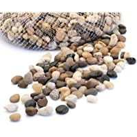 Royal Imports 5lb Small Decorative Ornamental River Pebbles Rocks for Fresh Water Fish Animal Plant Aquariums…