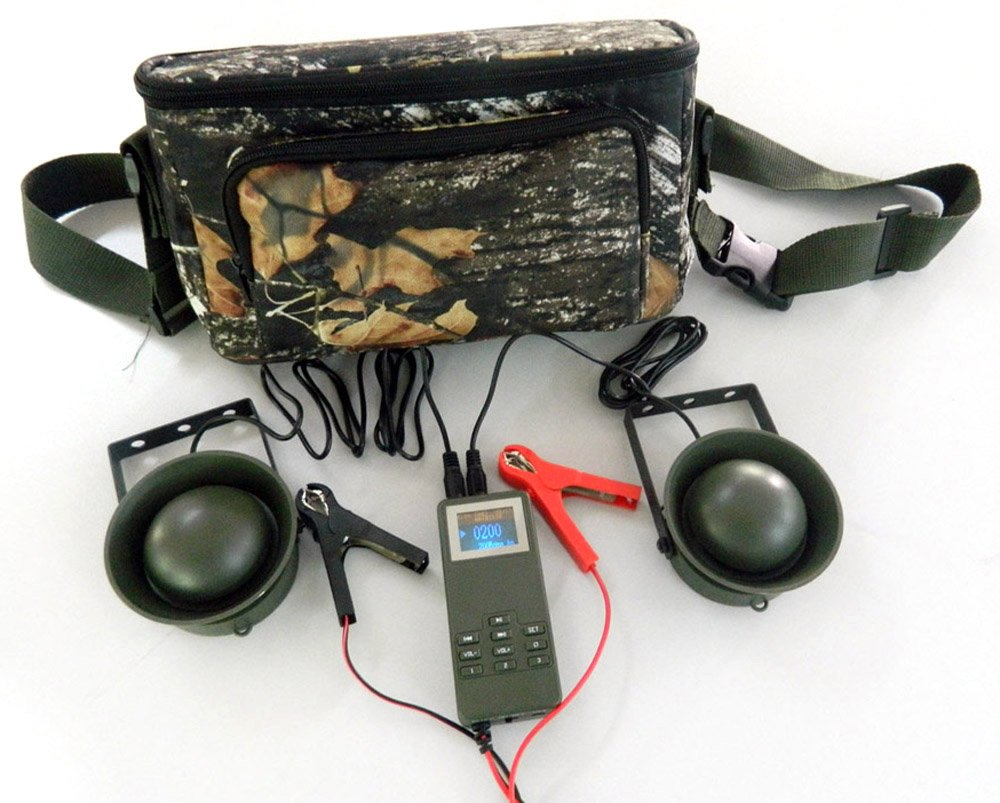 Outdoor Hunting Bird Caller Decoy Player 50W Loud Speaker Timer With Portable Bag