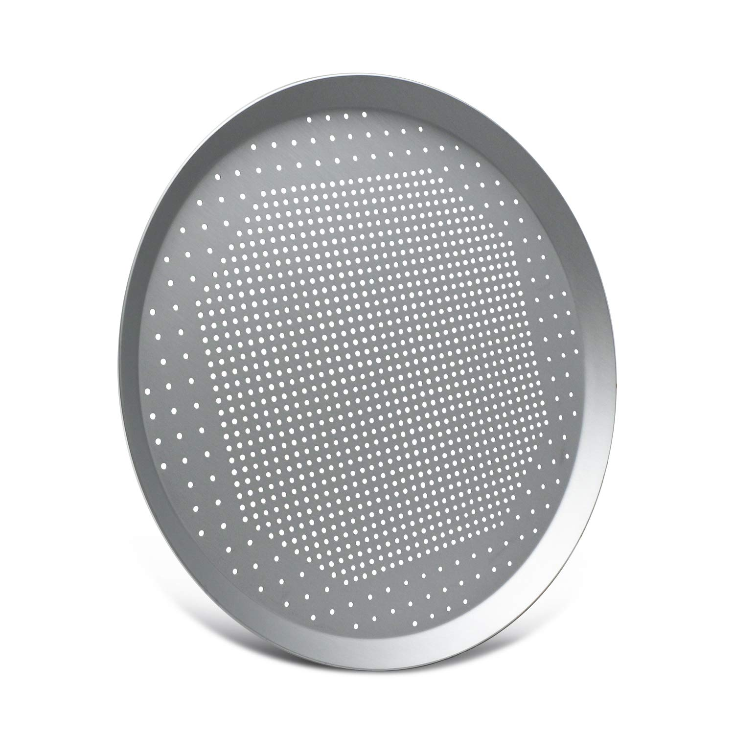 Pizza Pan with Holes, Beasea 13 Inch Aluminum Alloy Round Pizza Tray Pizza Crisper Pan Pizza Baking Tray Bakeware for Home Restaurant Kitchen