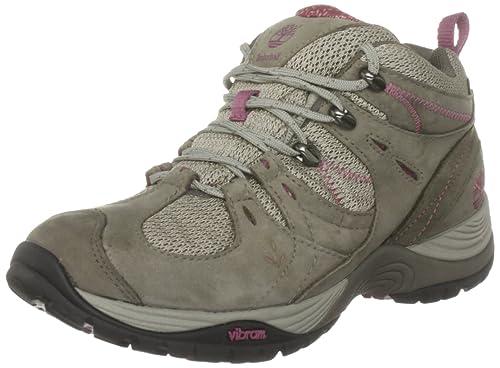 Timberland Lionshead Gore-Tex Mid - Zapatillas de deporte de cuero para mujer, color gris, talla 38: Amazon.es: Zapatos y complementos