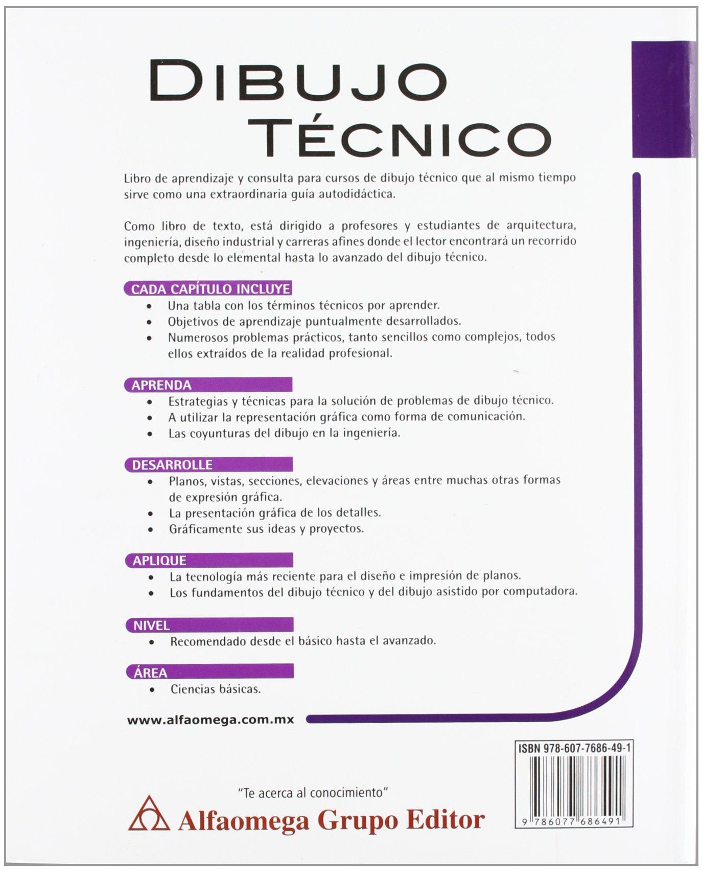 Amazonin Buy Dibujo Tecnico 8 ed Book Online at Low Prices in