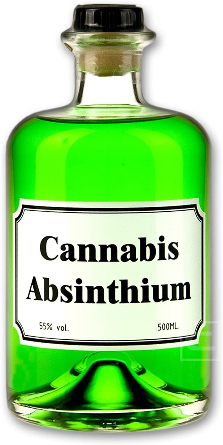 Schnaps Cannabis Absinth