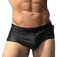 Taddlee Men Swimwear Brazilian Cut Blue Swimsuits Swim Bikini Brief Board Shorts