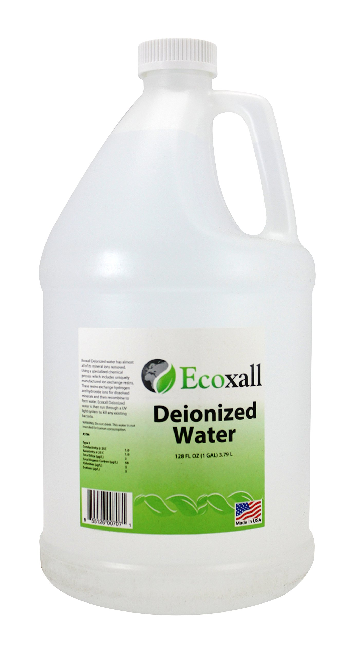Ecoxall - Deionized Water - 1 Gallon jug by Ecoxall Chemicals
