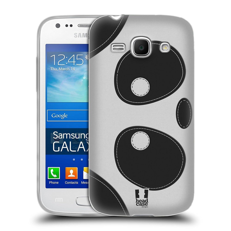 Head Case Designs Pandabär Bügelflicken Gel Schutzhülle für Samsung Galaxy Ace 3 S7270 S7272 Amazon Elektronik