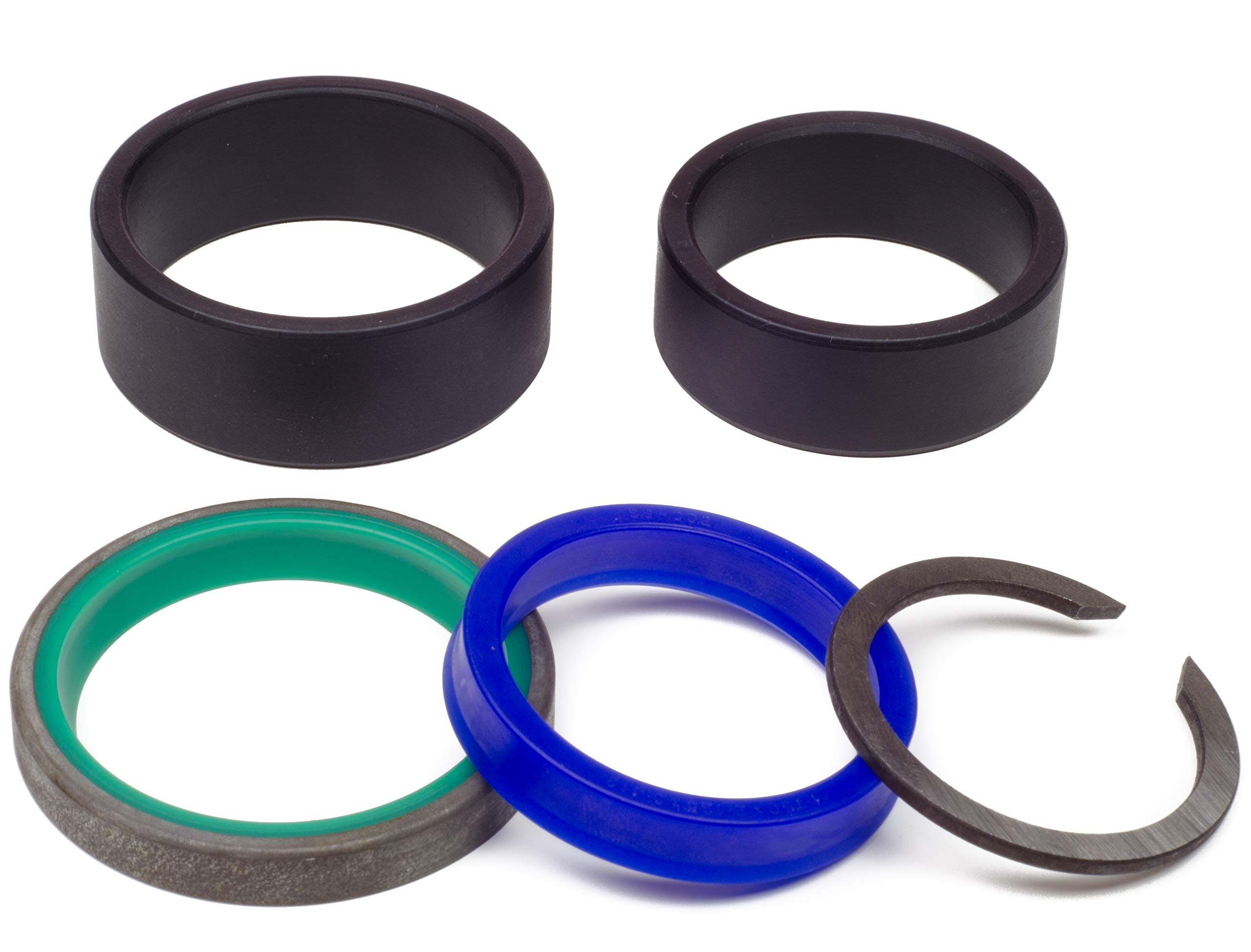 Kit King - Case 907002 Aftermarket Track Adjuster Seal Kit, Hydraulic Cylinder, CS-BD-907002, 450 455 550 650 & More by Kit King USA (Image #1)