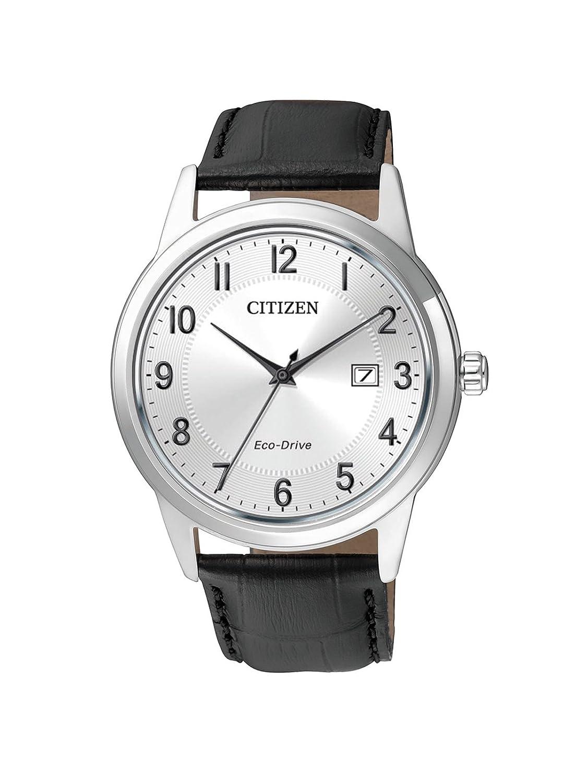 Citizen Reloj Analógico para Hombre de Cuarzo con Correa en Cuero AW1231-07A