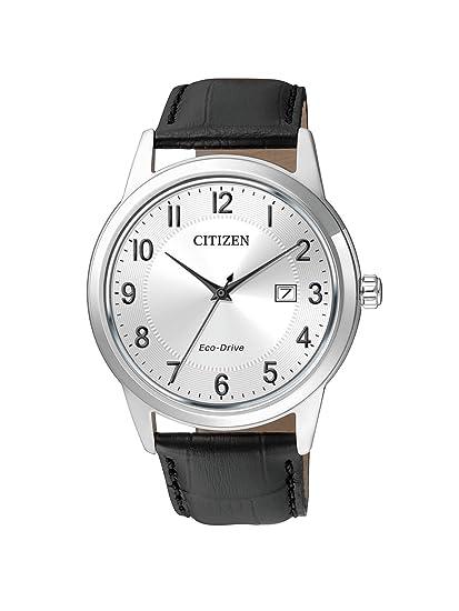 Citizen Hombre Reloj de Pulsera analógico Cuarzo Piel aw1231 - 07 A: Citizen: Amazon.es: Relojes