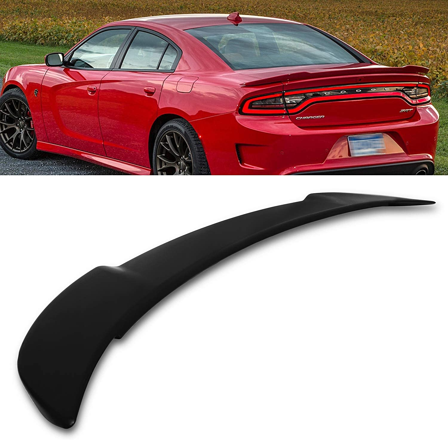 amazon com modifystreet for 11 18 dodge charger hellcat style flush mount rear trunk spoiler wing automotive modifystreet for 11 18 dodge charger hellcat style flush mount rear trunk spoiler wing