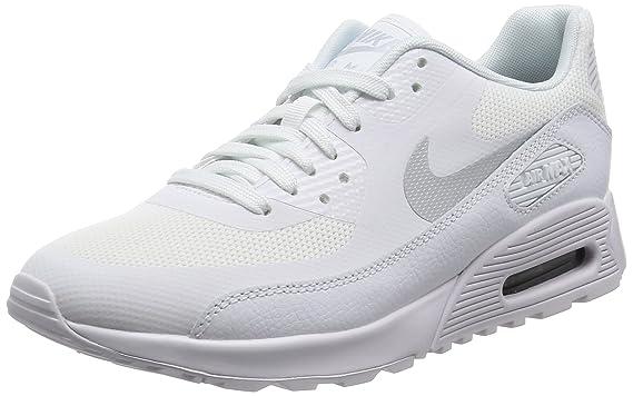 nike shoes air max womens white. nike new women\u0027s air max 90 ultra 2.0 running sneaker (7.5, white/mtlc shoes womens white