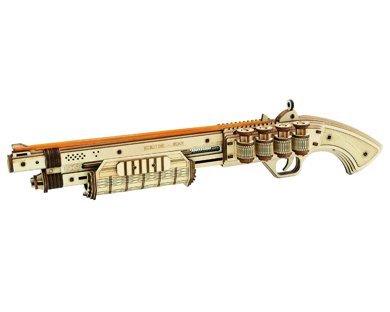 ROBOTIME 3D Wooden Puzzle Craft Kit Model Kit LQ501