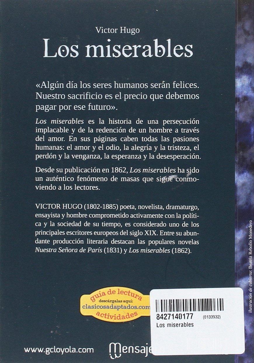 MISERABLES (CLASICOS ADAPTADOS): VICTOR HUGO: 9788427140172 ...