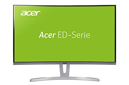 Acer ED273Awidpx 27 Inch FHD Curved 1800R Monitor, White (VA Panel,  FreeSync, 144 Hz, 4 ms, ZeroFrame, DP, HDMI, DVI)