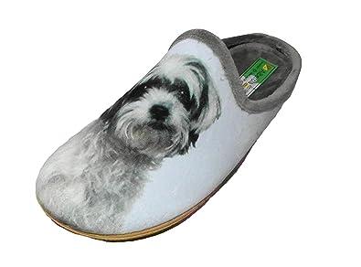 Alberola Hausschuh Pantoffel Hund Mit Plüschtier A8683a - Eu 35-42 (41) asXCnvN1g
